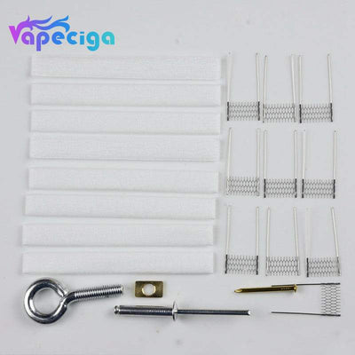 VAPJOY VINCI-TM1 DIY Rebuild Kit for Vopoo PnP Series Coils - Rod + Cottons + Ni80 Mesh 0.6ohm