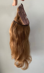 Kidman — Hair Topper and Halo Hair Extension Combo