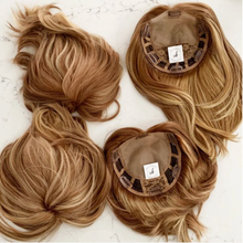 "Load image into Gallery viewer, Sophia - 6""  Remy Human Hair Topper"