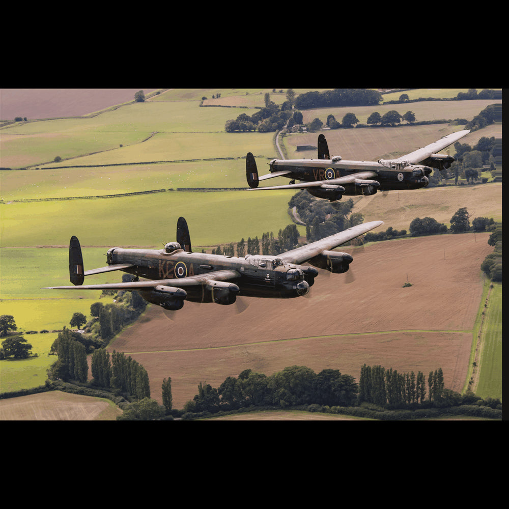 Twin Lancaster 'Vera' and City of Lincoln 3D