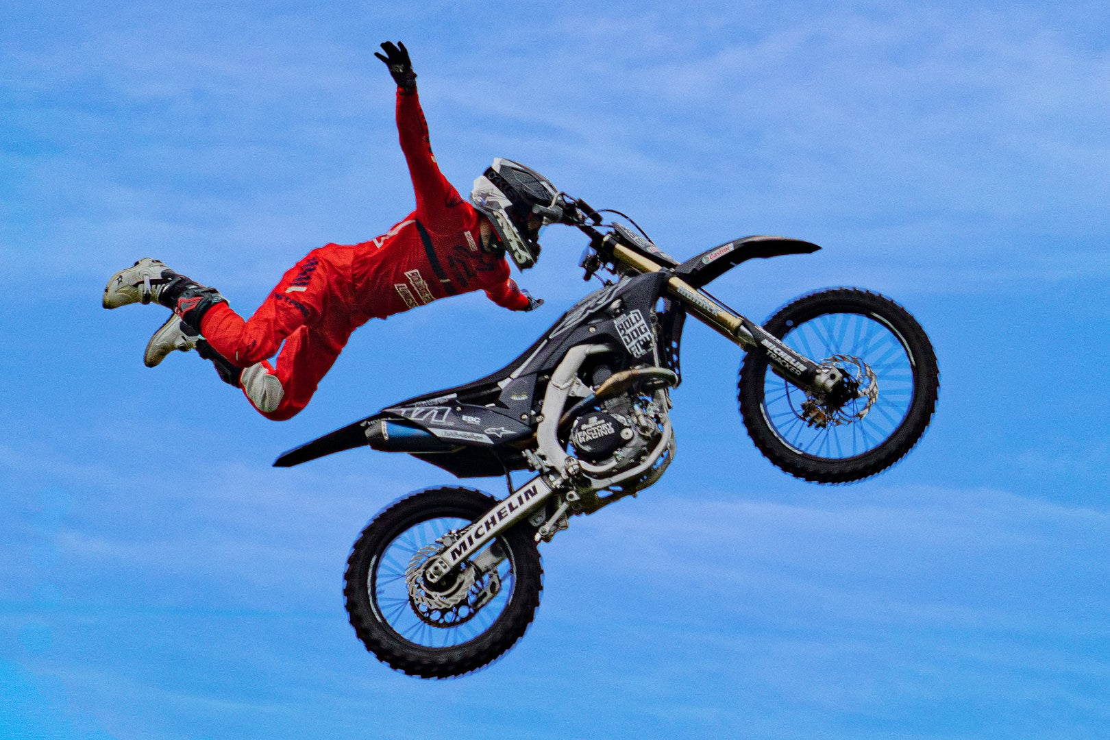 Motocross Cycle Animated 3 Scenes