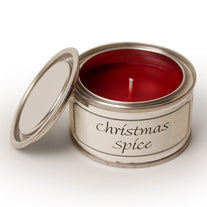 Pintail scented candle filled tin Christmas Spice fragrance