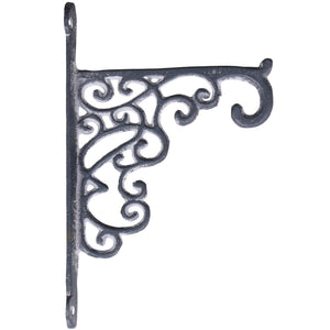 French antique grey wall shelf bracket