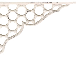 Tilda French antique cream shelf bracket 240mm