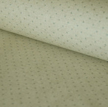Classic soft grey spot French linen oilcloth