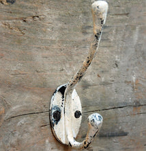 Vintage antique finish Oakham single coat hook
