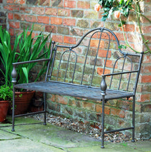 Bayswater antique design iron garden bench