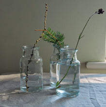 Mill Glass Botlle Vase