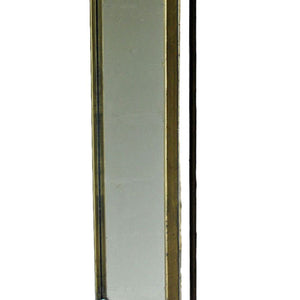 Antique brass Cliveden rectangular swivel mirror