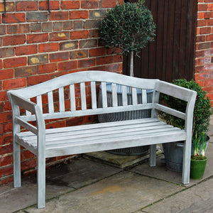 Runswick hardwood garden furniture bench seat