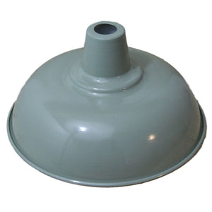 Vintage retro French grey ceiling 280mm pendant shade
