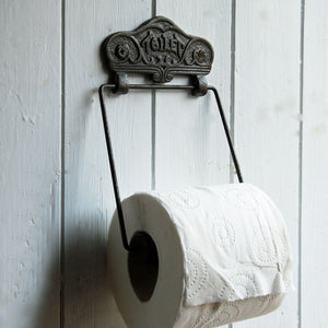 Toulouse vintage design wall mounted toilet holder