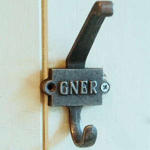GNER Vintage railway coat hook
