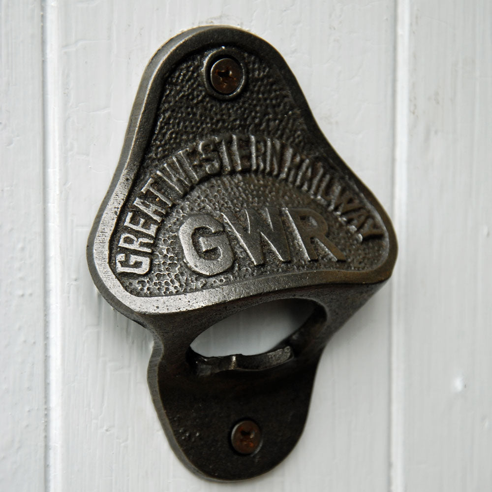 GWR railways wall mounted beer bottle opener