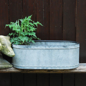 Dolly tub trough garden planter large size