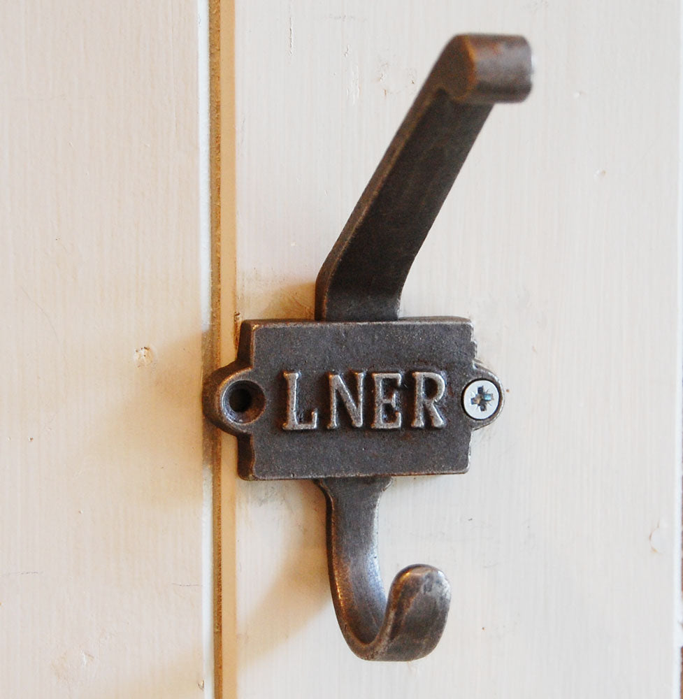 LNER Vintage railway coat hook