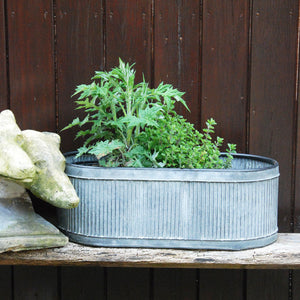 Dolly tub trough garden planter Medium size
