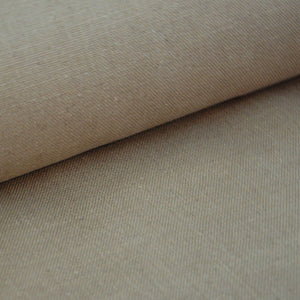 Natural taupe linen fabric