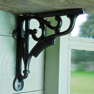 Antique design cast iron Padstow shelf bracket 150mm
