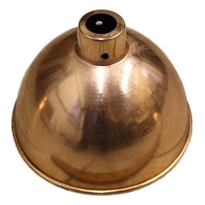 Canterbury polished copper finish domed  215 mm pendant ceiling shade