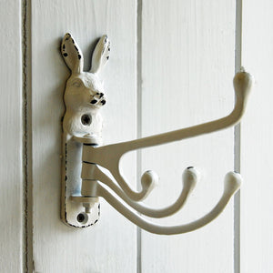 Bunny multi wall mounted coat hook