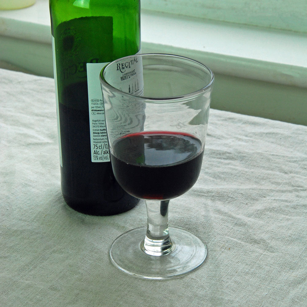 Danish red wine glass