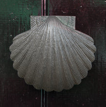 Antique finish scallop shell door knocker