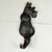 Retro Scottie dog wall coat hook