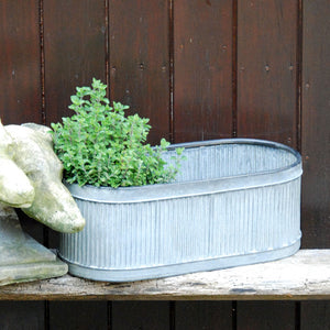 Dolly tub trough garden planter small size