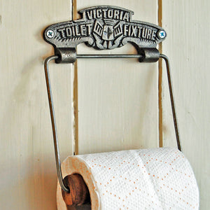 Traditional victorian replica wall mounted toilet roll holder
