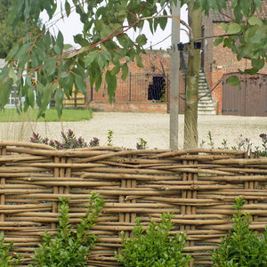 Cotswold handmade natural willow garden edging hurdle