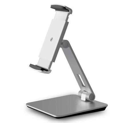 Heavy Duty Foldable Tablet Stand Tech Accessories WunderCart Silver