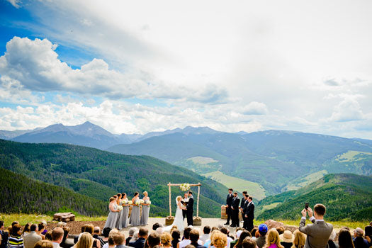 Image from Luxe Mountain Weddings