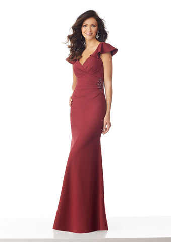 Napa Valley Dress in Wine