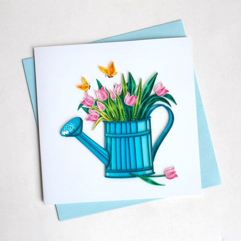 Quilling card happy gardening judees quilling card happy gardening m4hsunfo