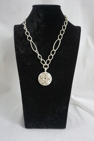 Versailles Saturn Reversible Necklace - Judee's
