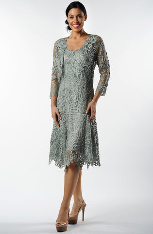 Sandra Long Dress, Spruce
