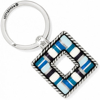 Cabana Blues Key Fob, Blue - Judee's
