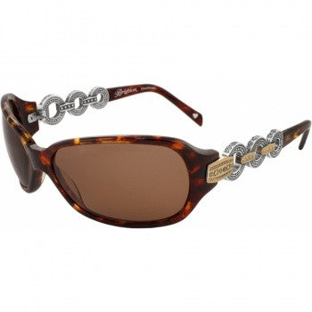Central Park Sunglasses, Brown - Judee's