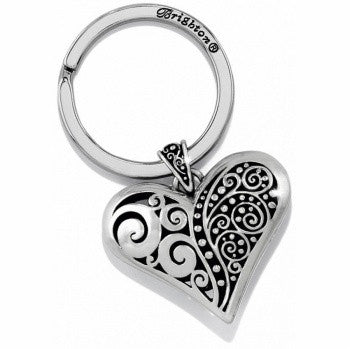 Love Affair Key Fob, Silver