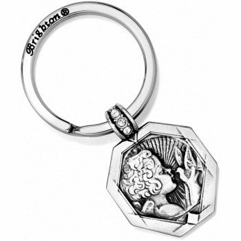 Devotion Peace Key Fob, Silver - Judee's