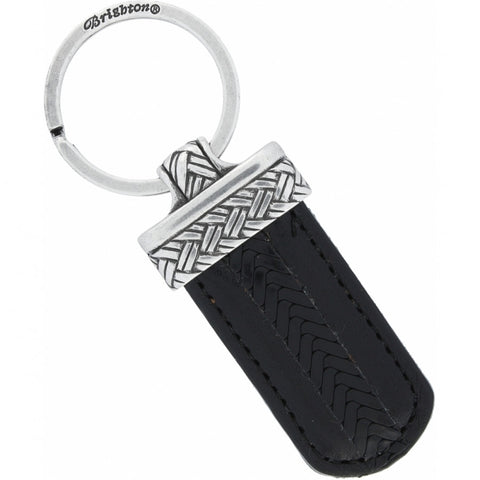 BRIGHTON Newport Key Fob, Black - Judee's
