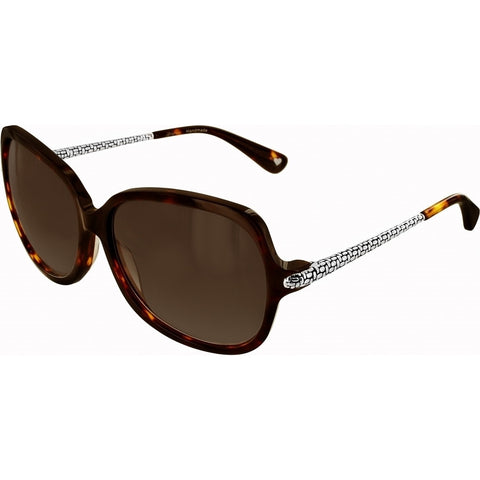Square Shape Tortoise Frame Sunglasses