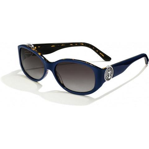 Anchor & Rope Motif Sunglasses Navy-Tortoise