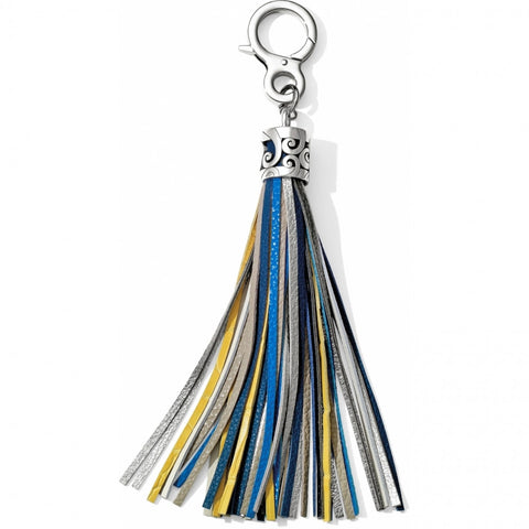 Lemon-Black Tassel Fob