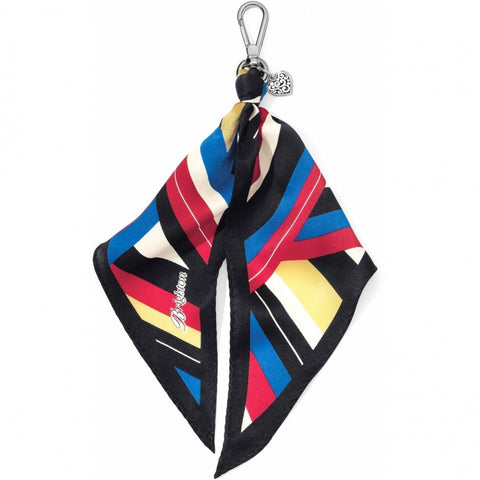 Scarf Key Fob Multicolored