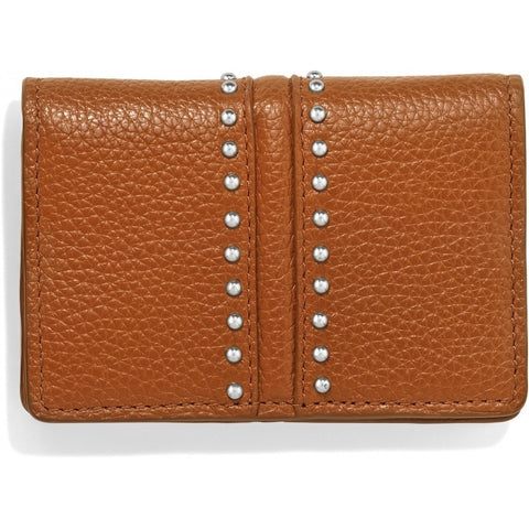 Pretty Tough Card Case, Brown - Judee's