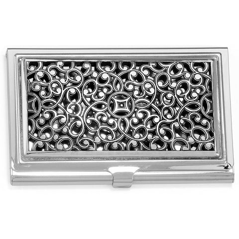 Serendipity Card Case Metal, Silver