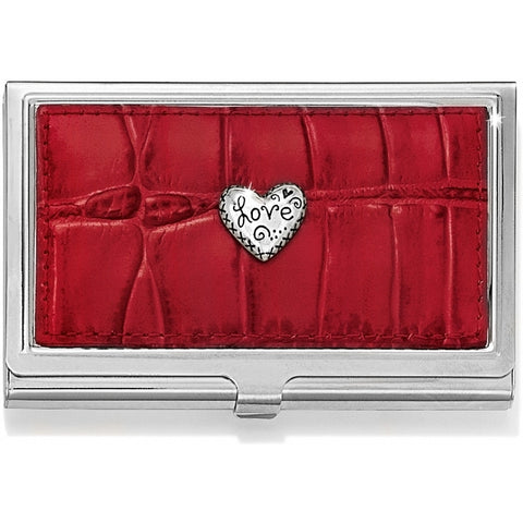 Love Beat Card Case RED - RED - Judee's