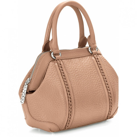 Ruby Small Satchel, Tan - Judee's